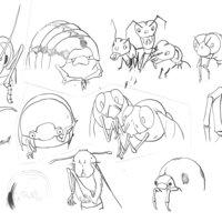 Ilustración - El circo de insectos