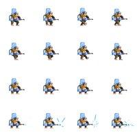 Tile personaje - Mono espacial