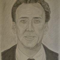 Retrato Nicolas Cage