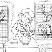 Ilustración digital infantil