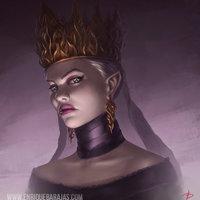 Reina purpura