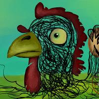 El huevo y El pollo