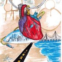 corazon de adorno