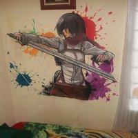 Mikasa Akcerman (Shingeki no Kyojin)