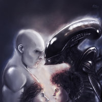 Alien vs Ingeniero