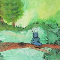 En el estanque verde