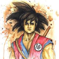 Fanart de Goku