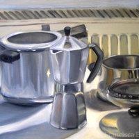 Cafetera y ollas