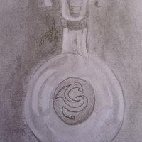 Mi primer dibujo de algo de vidrio!