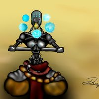 Zenyatta Fan Art. -OVERWATCH-