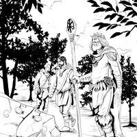 ilustraciones en tinta