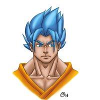 Goku Super Sayayin Dios