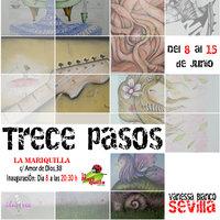 Exposición de ilustrea: TRECE PASOS.
