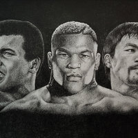 MohameDali / MikeTyson / MannyPacquiao