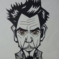 Robert Downey caricatura