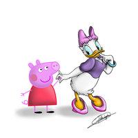 Daisy y Peppa