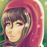 Chica con capucha roja