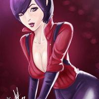 Fanart Ada Wong residente evil 6