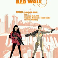 Red Wall personajes - Denisse