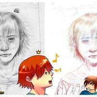Cambiar el color de un dibujo tradicional en Paint Tool Sai