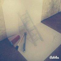 Escalera 3D