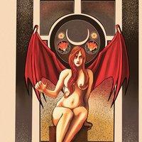 Lilith Comic Book Illustration