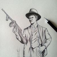 Gangster concept