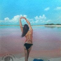Beach girl (comisión)