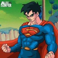 Superman al estilo de Dragon Ball