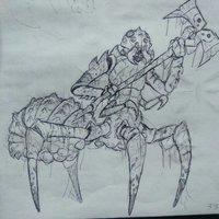 Boceto Araña-Hombre