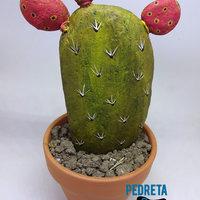 piedras pintadas con cactus 1