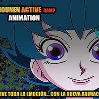 Filmando un AMV de animación japonesa.