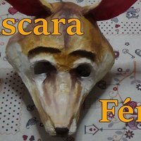 Cómo hacer una máscara de zorro fénec