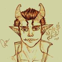 Kéngrunell, OC, dragón humano