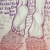 Caminando en un mar de palabras.