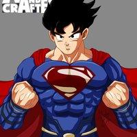 Superman al estilo Goku