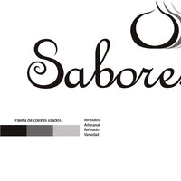 diagrama para marca Sabores