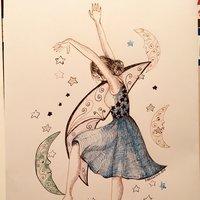 Bocetos en tinta y plumilla