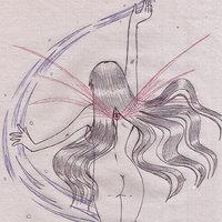 Inktober #15 (Boceto Bishoujo Fairy)