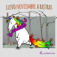 Lunicornio en Noviembre