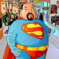 Superman obeso