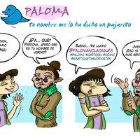 @Name, cómic Paloma