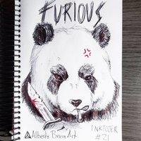 Furioso- Inktober 2017 #21
