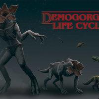 DEMOGORGON LIFE CICLE: STRANGER THINGS