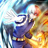 Todoroki Shoto - BNHA ( Boku no Hero Academia )