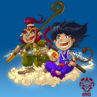Son Goku and Sun Wukong