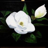 Magnolia - acrílico - 40x60