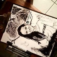 Retrato en tinta