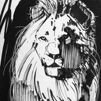ink lion 01