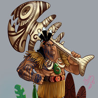 guerrero maoríe